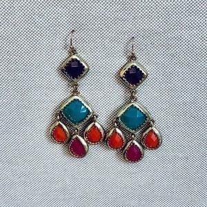 Bright Chandelier Earrings